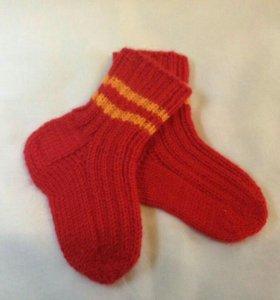 Носочки детские ручной вязки
