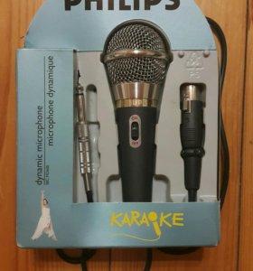 Микрофон для караоке PHILIPS