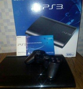 Консоль Sony PlayStation 3 Super Slim 500 Gb