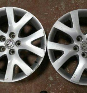Mazda диски r18