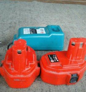 Аккумуляторы и зарядное устройство для шуруповерта