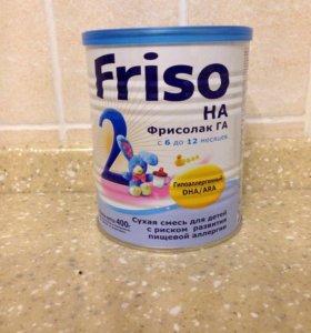 Молочная смесь Friso Фрисолак 2 ГА с 6 мес. 400 г