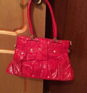 Продаю новую сумку+ кожаный ремень