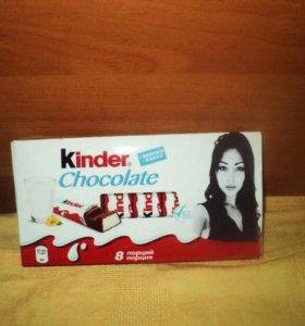 Шоколад киндер с фото