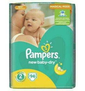 Подгузники Pampers 2