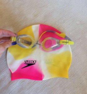 Шапочка и очки