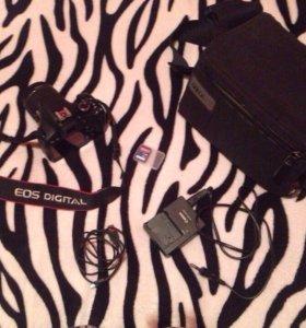 Фотоаппарат canon 550D