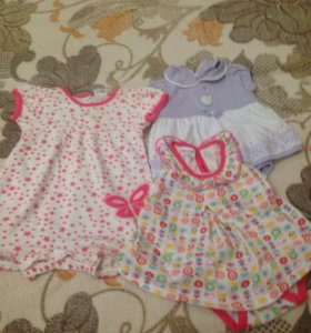 Детские платья боди