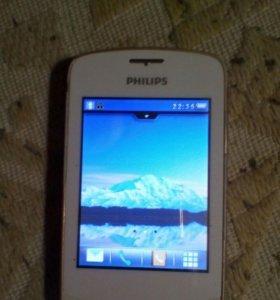 Телефон philips xenium x518