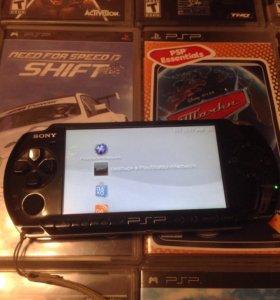 PSP + 12 игр