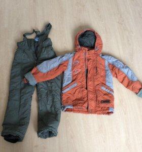 Костюм ( комплект куртка+полукомбинезон)