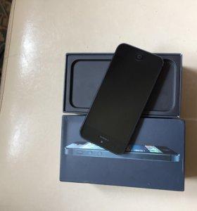 iPhone 5 black 32gb, отличный