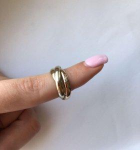 Новое золотое кольцо Cartier 8 гр 585 пр