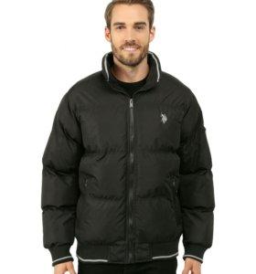 Новый Пуховик U. S. polo assn. Puffer Jacket wit