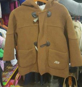 Пальто на мальчика 4 лет