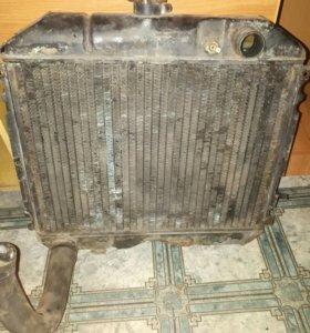 Радиатор на волгу  31029