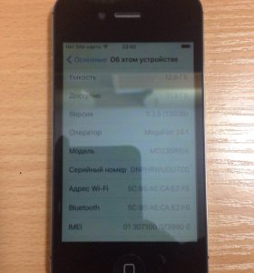 iPhone-4S 16GB Black