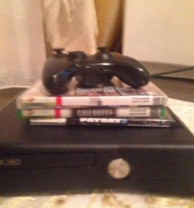 Xbox 360 +подарок диски (3)