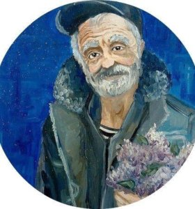 Портреты гуашью