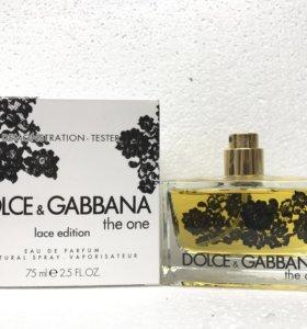 Тестер DG the One Lace Edition 75 ml. Оптом.