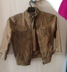 Куртка на мальчика 3-6 лет