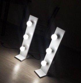 Лампы для макияжа, визажа, световые стойки
