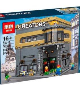Лего Lepin музей динозавров , новый
