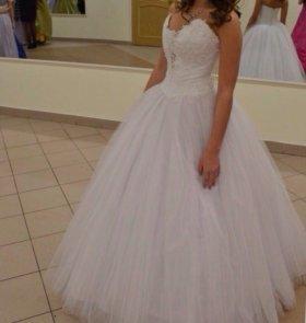 Белое свадебное платье или платье на бал