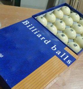 Бильярдные шары 60 мм.(новые)