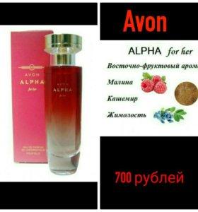 Парф.вода Аvon Alpha