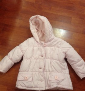 Демисезонная куртка mothercare размер 80