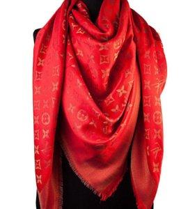 Louis Vuitton новый платок бордо