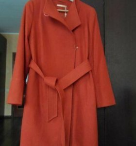 Новое пальто демисезонное р-р 46