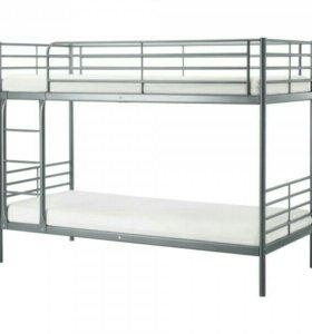 Двухъяросная кровать ikea
