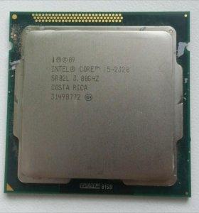 Intel Core i5-2320+Asus P8H67-V+RAM 8gb+Кулер