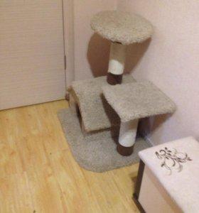 Домик - когтеточка для кошечки или котика!