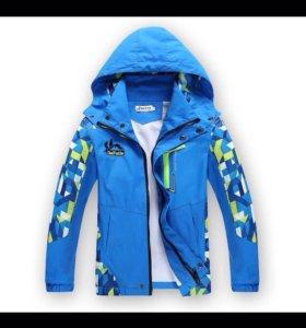 Куртка/ветровка  демисезонная,  до 5 лет