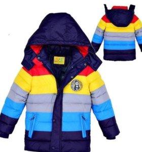Куртка демисезонная, 3-5 лет