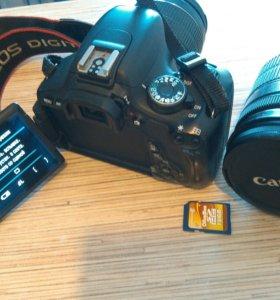 Продам фотоаппарат Canon eos 600d
