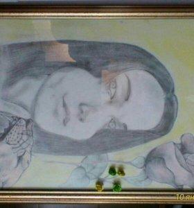 Нарисую портрет карандашом