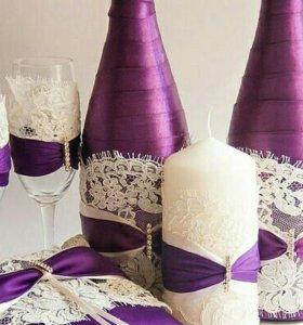 Выполнение свадебной атрибутики