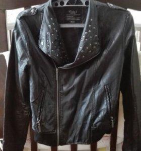 Куртка кожаная колинс
