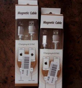 Магнитный USB-кабель на iPhone