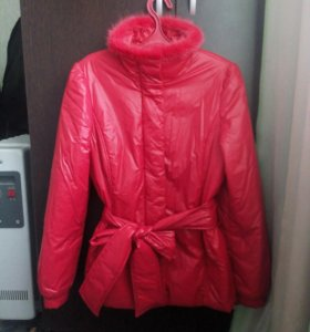 Куртка (мех-норка, 100% нейлон/полиэстер)