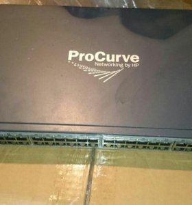 Коммутатор HP Switch 2510-48 J9020A 10/100/1000