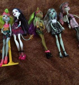 Срочно продам кукол Монстр Хай/ Monster High