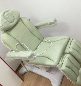 Электрическое кожаное кресло для педикюра, массажа