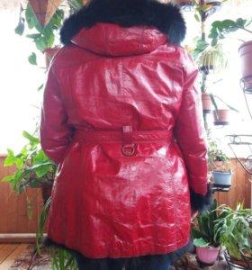 Куртка зимняя новая