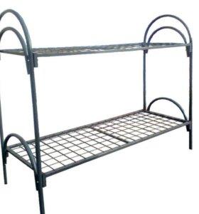 Металическая двухъярусная кровать