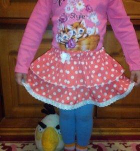 Детский трикотаж в наличии возраст от 2 до 7 лет